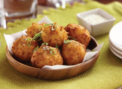 Buffalo Chicken Fritters image