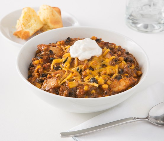 Fire-Roasted Chicken Chili